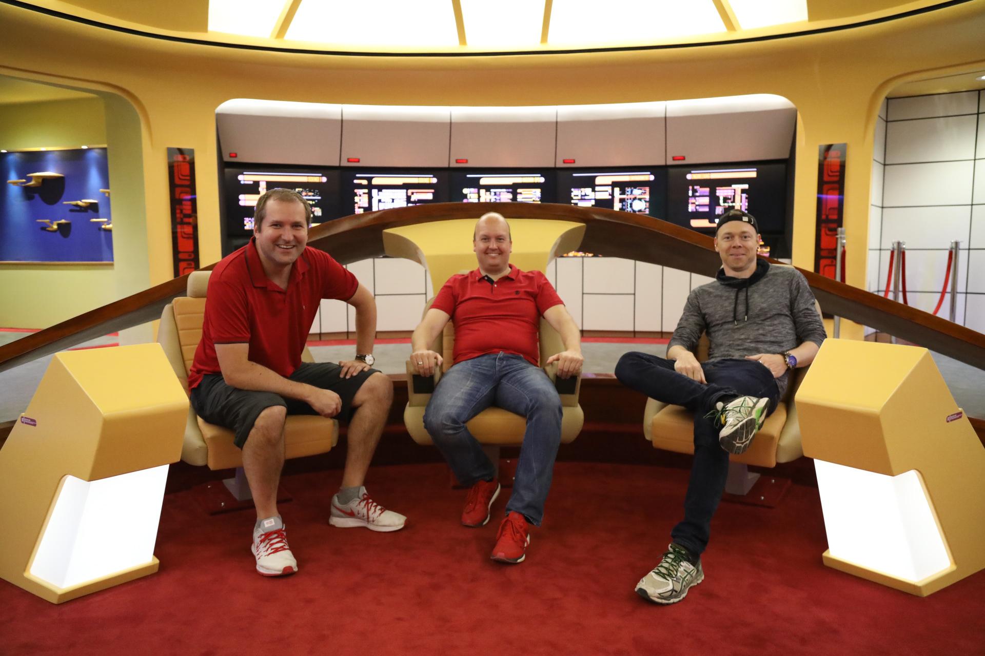 movemotions Team auf der Enterprise